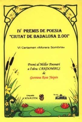 galardón Morera Sombría