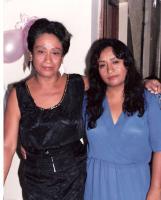 Con su madre